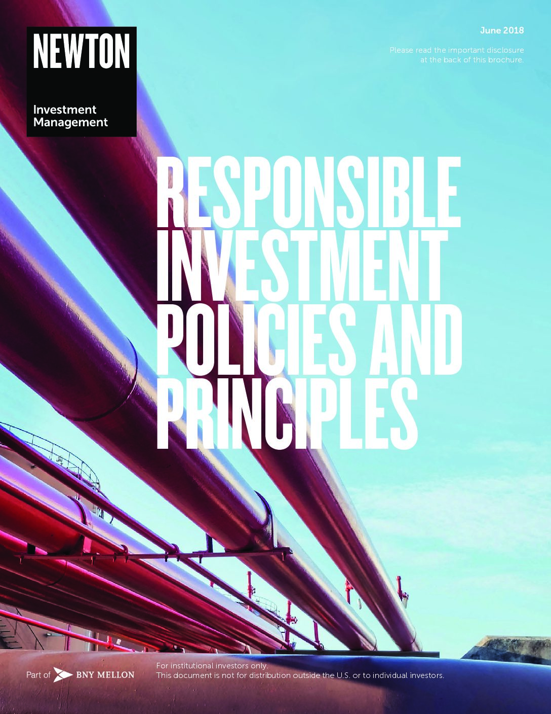 Responsible investment – policies and principles nimna