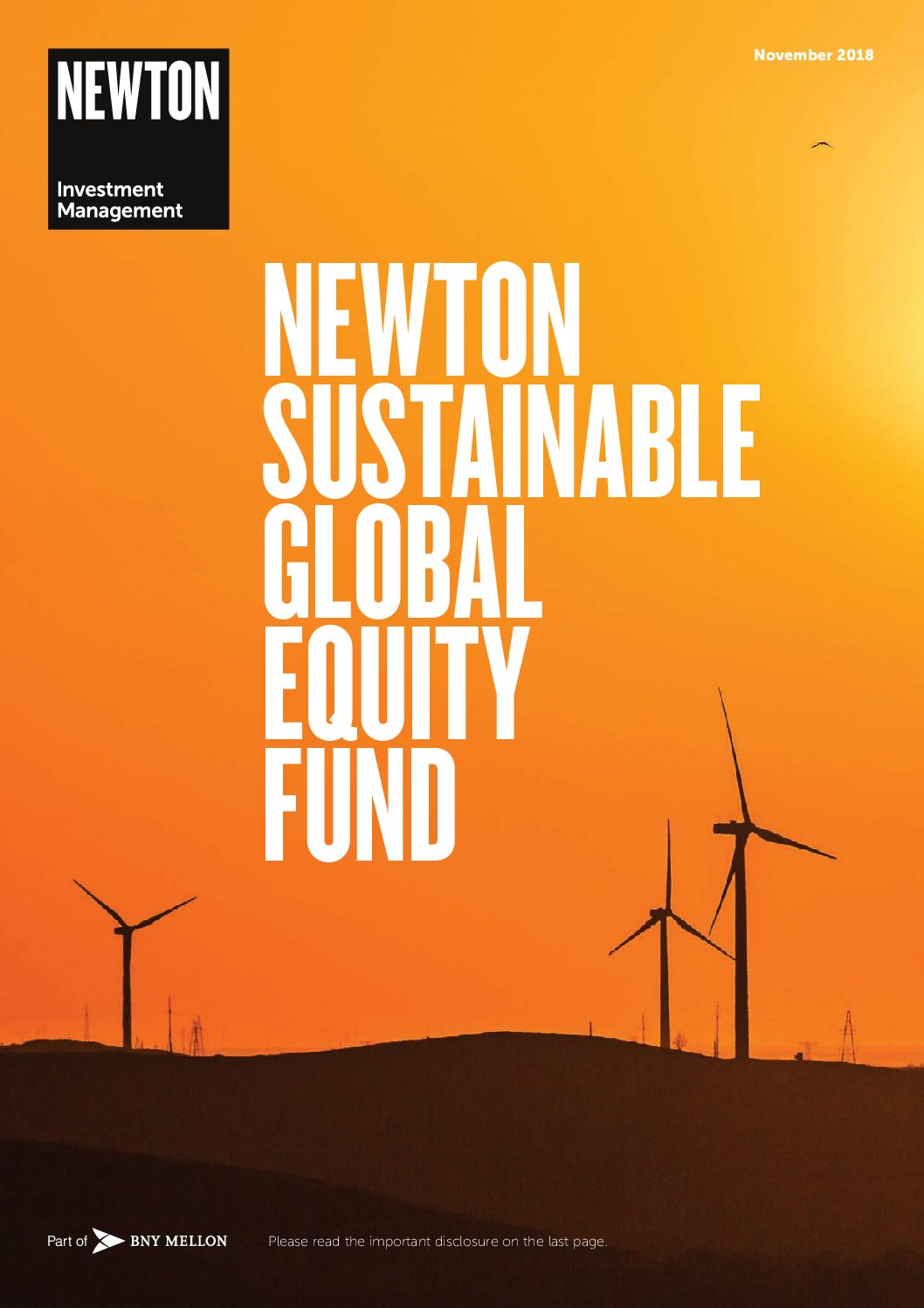 Sustainable Global Equity Fund Brochure