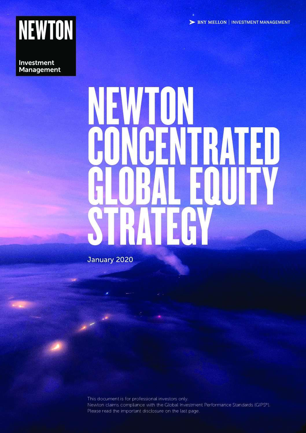 Concentrated Global Equity brochure