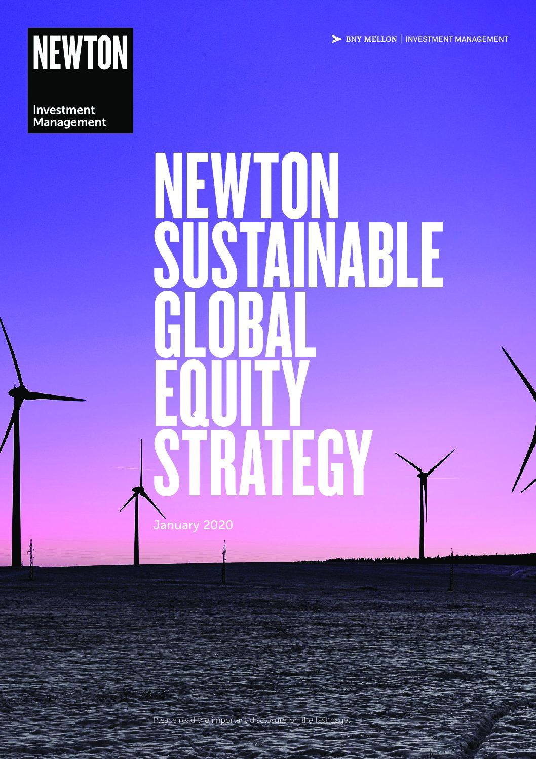 Sustainable Global Equity Brochure