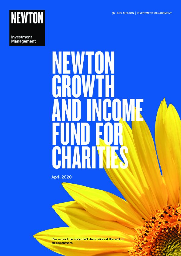 Char Growth and Income Fund for Charities brochure