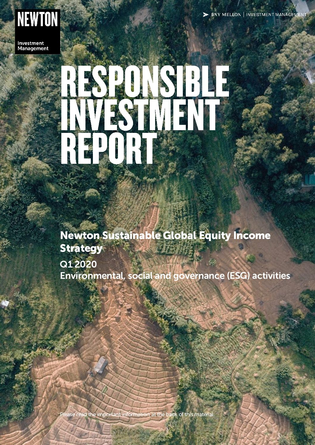 RI report Sustainable global equity income