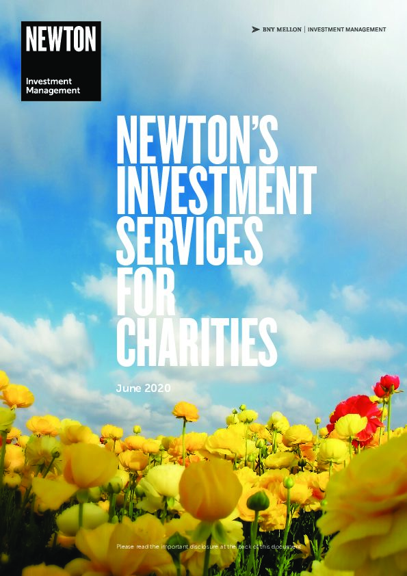 Investment services for charities