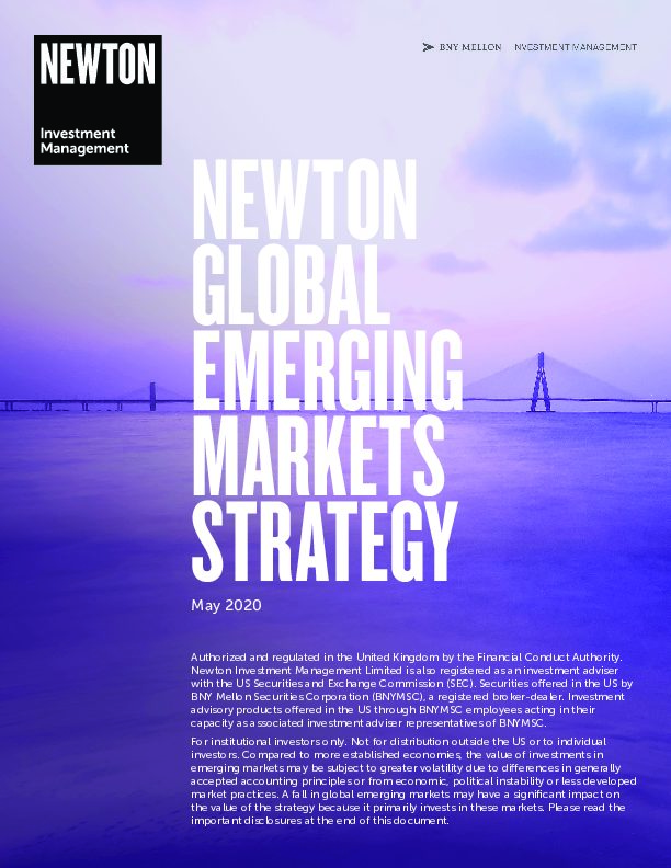 US Global Emerging Markets strategy brochure