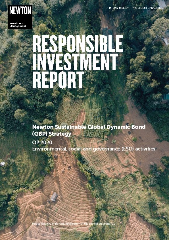 RI report Sustainable global dynamic bond