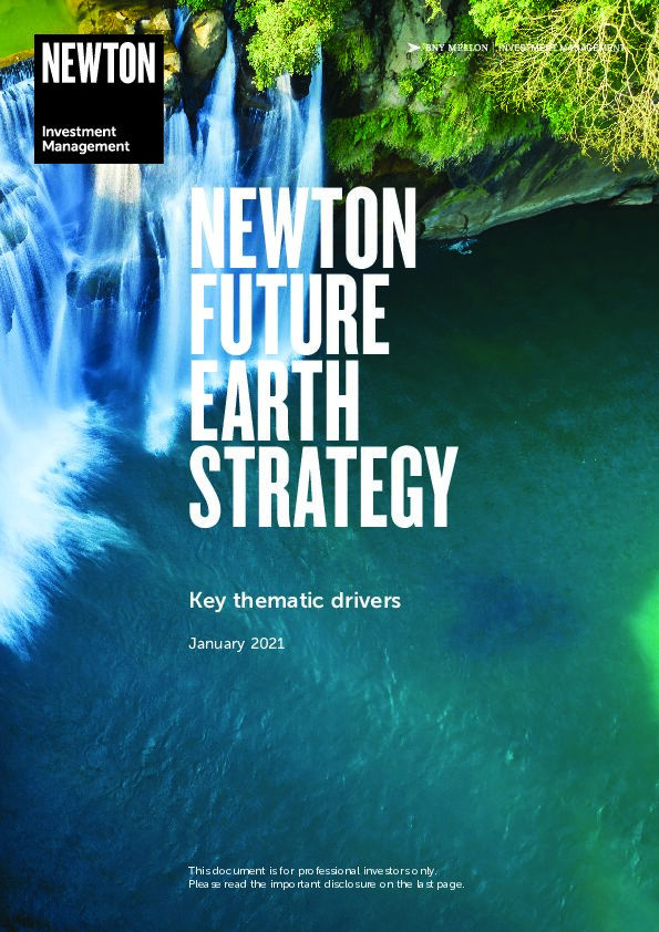 Future Earth strategy brochure